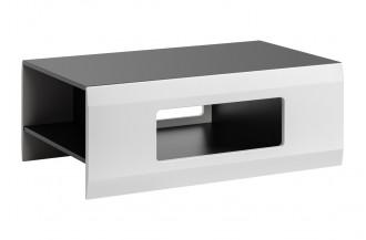Ława, stolik kawowy CLIF grafit/ biały mat