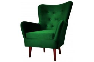 Fotel FIGARO zielona butelk