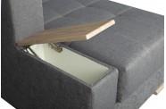 Narożnik rozkładany SKIPER z pojemnikami na pościel