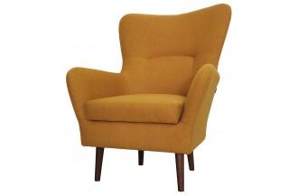 Fotel CARMO musztardowy