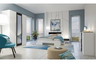 Sypialnia VERA 3D łóżko 140 x 200
