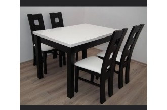 Zestaw stół S14 + 6 krzeseł D24