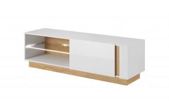 ARCO - stolik RTV 138 biały połysk