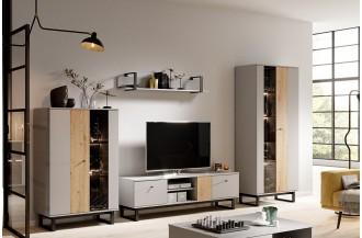 Meblościanka AVIO 1 loftowy styl