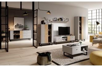 Meblościanka AVIO 2 loftowy styl