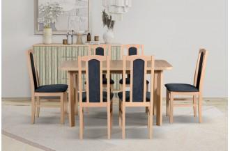 Zestaw stół WENUS 2 P + 6 krzeseł BOS 7