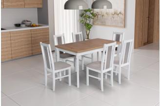 Zestaw stół MODENA 1 P + 6 krzeseł BOS 14