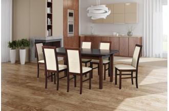 Zestaw stół WENUS 5 LS + 6 krzeseł NILO 6