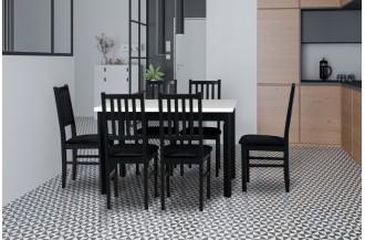 Zestaw stół MAX 5 P + 6 krzeseł NILO 7