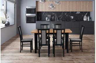 Zestaw stół WENUS 2 S + 6 krzeseł MILANO 7