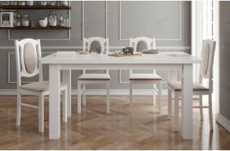 Zestaw stół rozkładany STF 15 + 4 krzesła KT 12