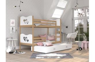 Łóżko MAX 3 sosna