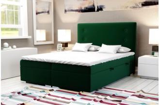 Łóżko kontynentalne GINO - 2 pojemniki na pościel