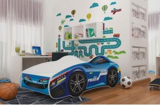 Łóżko CARS 140