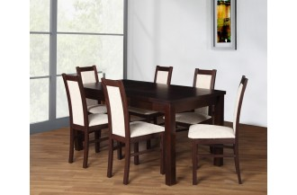 Zestaw stół S14 + 6 krzeseł D55