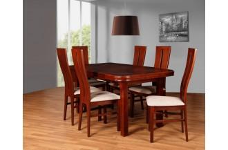 Zestaw stół S25 + 6 krzeseł D59