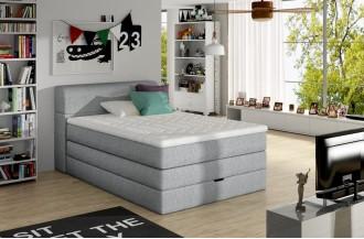 Łóżko kontynentalne AQUA
