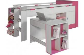 KOMI KM16 - łóżko z biurkiem
