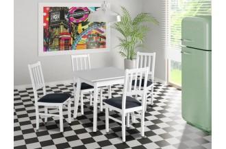 Zestaw stół OSLO 1 + 4 krzesła BOS 4