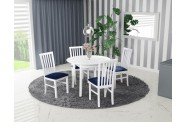 Zestaw stół OSLO 3 + 4 krzesła MILANO 1