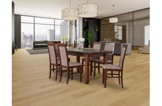 Zestaw stół WENUS 7 S + 6 krzeseł NILO 6