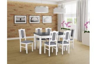 Zestaw stół MODENA 1 + 6 krzeseł BOS 4