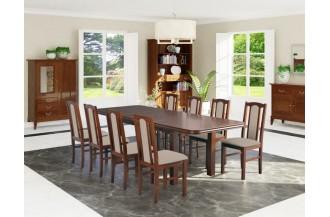 Zestaw stół WENUS 8 + 8 krzeseł BOS 7