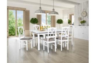 Zestaw stół WENUS 5 LS + 6 krzeseł NILO 11