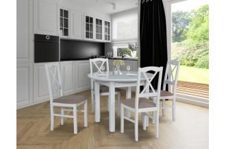 Zestaw stół POLI 1 S + 4 krzesła NILO 11