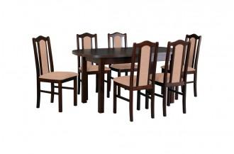 Zestaw stół WENUS 1 + 6 krzeseł BOS 2