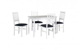 Zestaw stół MAX 2 + 4 krzesła BOS 4