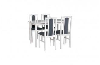 Zestaw stół MAX 4S + 4 krzesła BOS 7