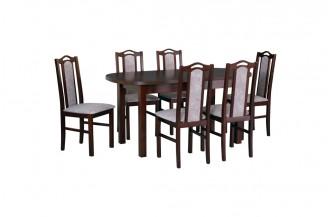 Zestaw stół WENUS 1 + 6 krzeseł BOS 9