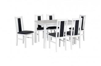 Zestaw stół OSLO 5 + 6 krzeseł BOS 14