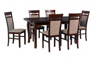 Zestaw stół LUDWIK + 6 krzeseł MILANO