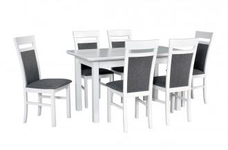 Zestaw stół WENUS 2 S + 6 krzeseł MILANO 6