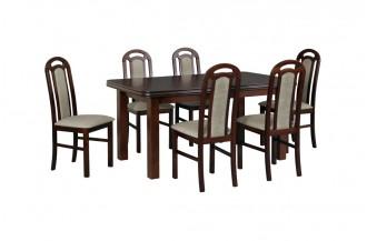 Zestaw stół WENUS 5 + 6 krzeseł PIANO