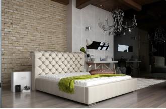 Łóżko tapicerowane MANCHESTER