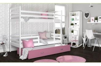 Łóżko JACEK 3 białe