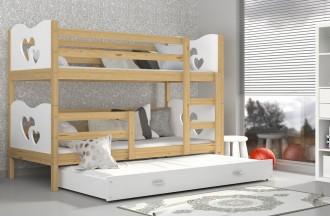 Łóżko MAX 3 olcha