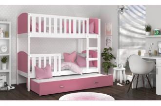 Łóżko TAMI 3 k białe