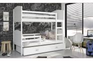 Łóżko MATEUSZ 2 białe