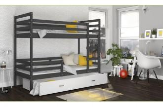 Łóżko JACEK 2 szare
