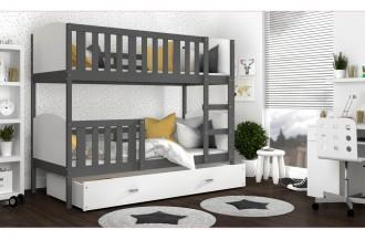 Łóżko TAMI kolor 2 szare