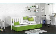 Łóżko KUBUŚ P2 białe