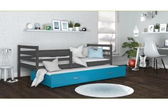 Łóżko JACEK P2 szare