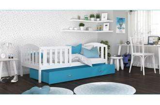 Łóżko KUBUŚ P białe