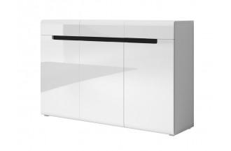 HEKTOR komoda 3D3S biały