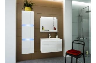 Zestaw łazienkowy LUNA I 60 biały połysk