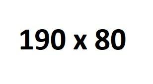 Powierzchnia 190x80